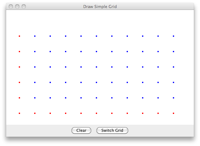 Java Swing and Java 2D